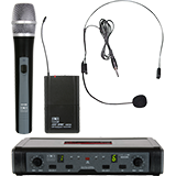 Wireless Microphones, Mics