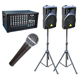 Portable PA Outdoor Sound System Kits