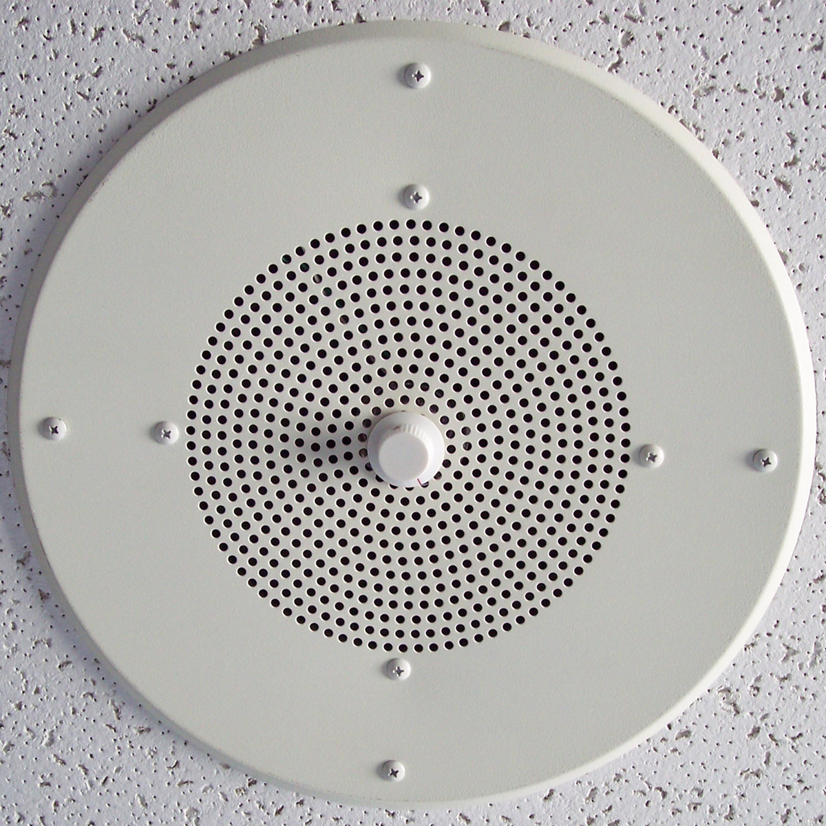 Weltron Ceiling Speaker With Metal Grill Transformer And Volume Control On Ws 8010gtl